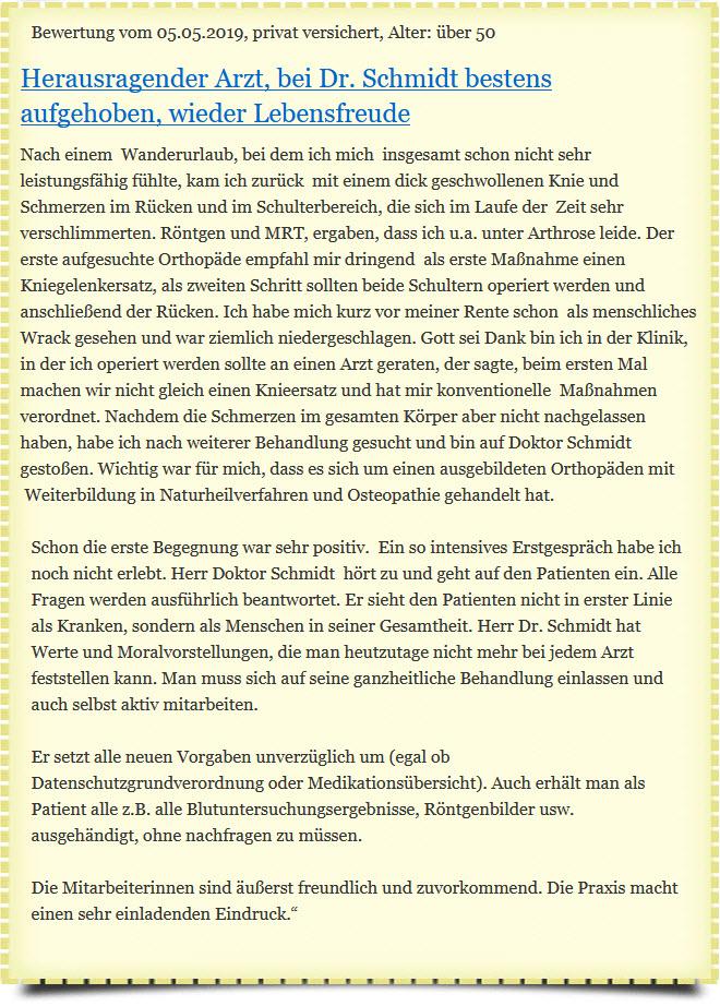 Orthopäde Bayreuth Osteopathie Bayreuth Hömeopathie Bayreuth Akupunktur Bayreuth - Informationen! Orthopäde Bayreuth Dr. med. Martin Schmidt